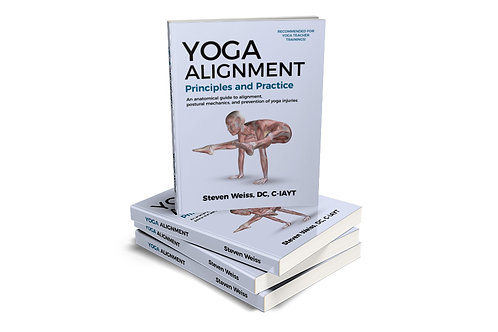 Yoga Alignment Principles and Practice - B&W Print - Use links, Not Cart