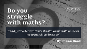 Do you struggle with mathematics? Let's open up the conversation about GMAT Quant.