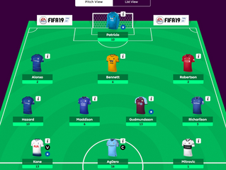 Fantasy Football Update - Gameweek 7