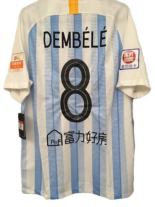 *BNWT* 2019 Guangzhou R&F Shirt #8 Dembélé