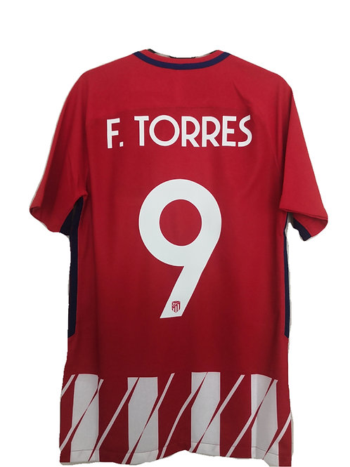 *BNWT* 17/18 Atletico Madrid Player Issue Shirt #9 Torres
