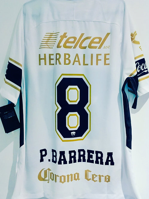 *BNWT* 17/18 Pumas UNAM Shirt #8 Pablo Barrera