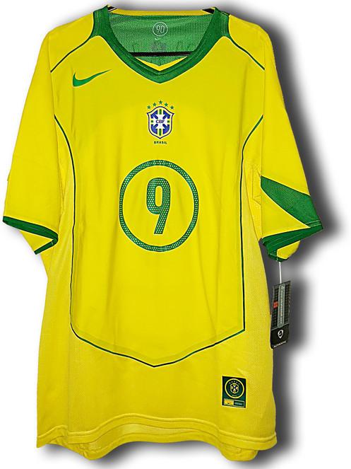 77dc840fb58 BNWT  04 05 Brazil Limited Edition Player Issue Shirt  9 Ronaldo