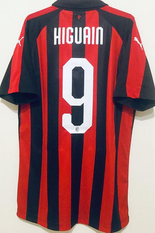 *BNWT* 18/19 AC Milan Player Issue Shirt #9 Higuain