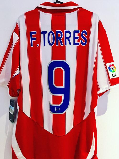 *BNWT* 03/04 Atlético Madrid Shirt #9 Torres