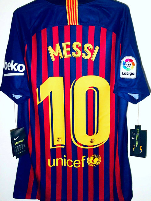 *BNWT* 18/19 FC Barcelona Shirt #10 Messi