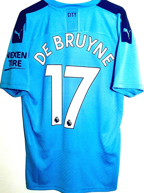 *BNWT* 19/20 Manchester City Shirt #17 De Bruyne