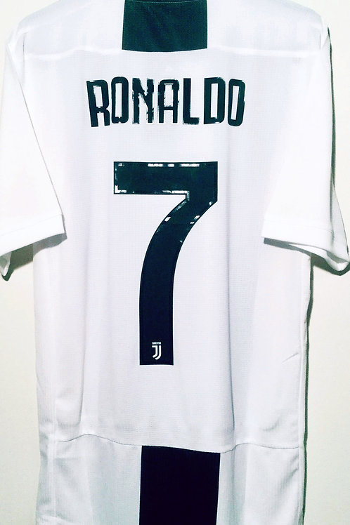 *BNWT* 2018/19 Juventus FC Player Issue Shirt #7 Cristiano Ronaldo
