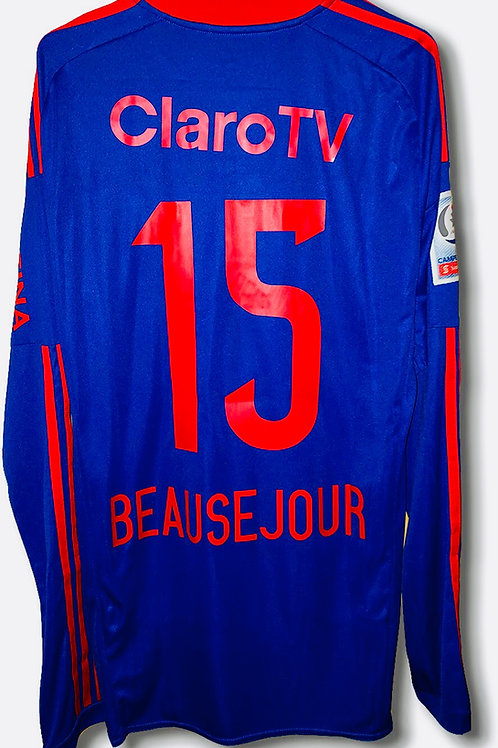 *Match Prepared* 2017 Universidad de Chile Shirt #15 Beausejour