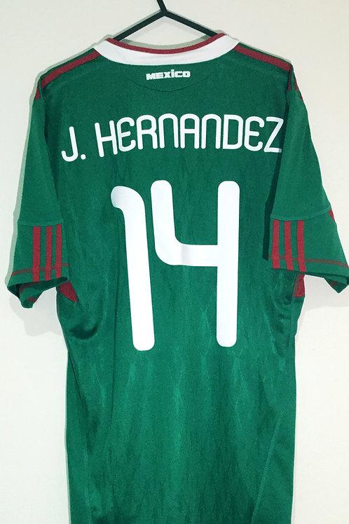 *BNWT* 10/11 Mexico National Team Shirt #14 Hernandez