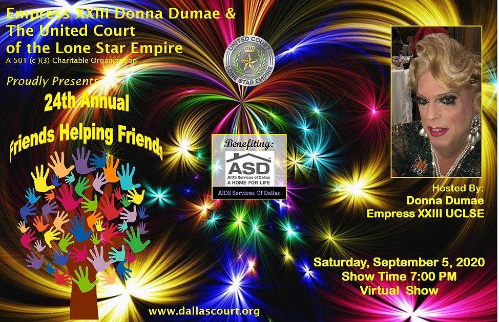 Donna Dumae Friends Helping Friends 2020