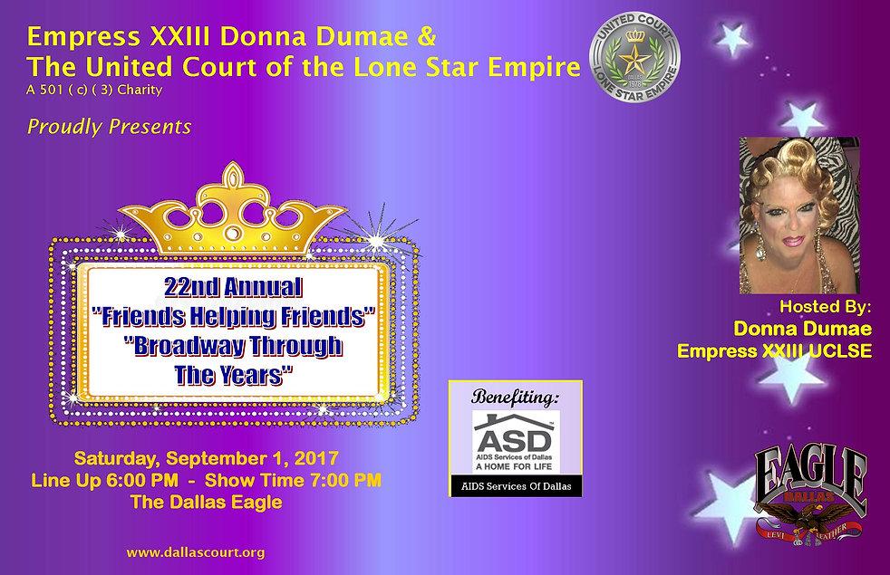Donna Dumae Friends Helping Friends 2018