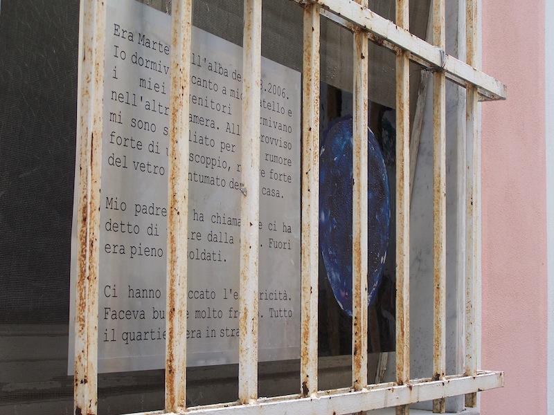 2008, Castelnuovo Magra, Installazione 2,