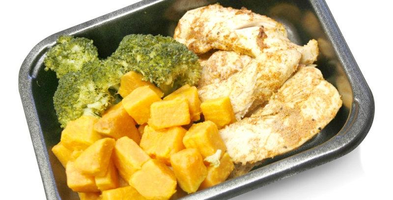 Peri piri chicken, sweet potato & veggies