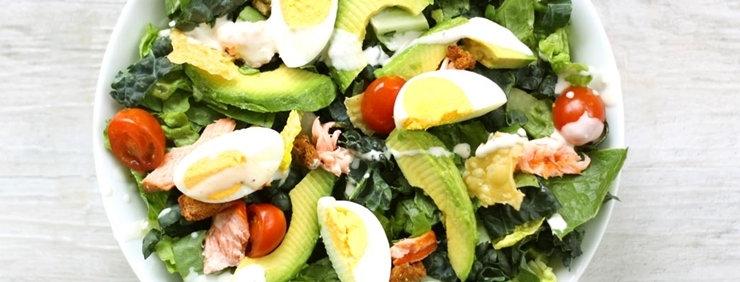 Avocado Caesar Salmon