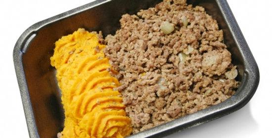 Sweet potato mash & beef mince