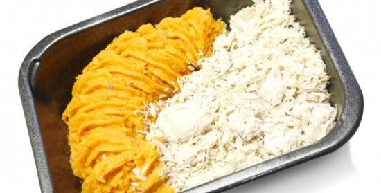 Sweet potato mash & chicken