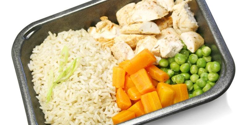 Cajun chicken, brown rice & veggies