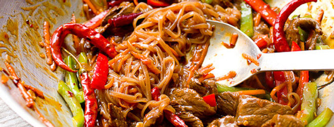 Tai beef noodle dish