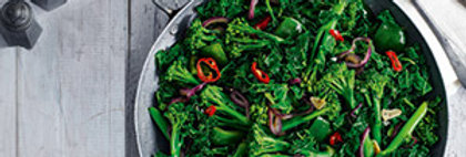 Chilli - garlic greens