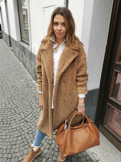 Kabát camel IMPERIAL