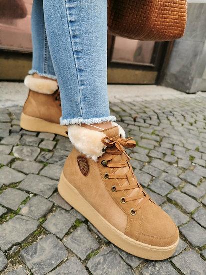 Blauer topánky hnedé