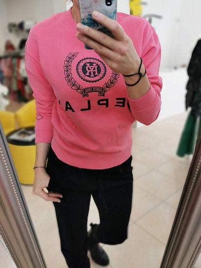Replay mikina ružová