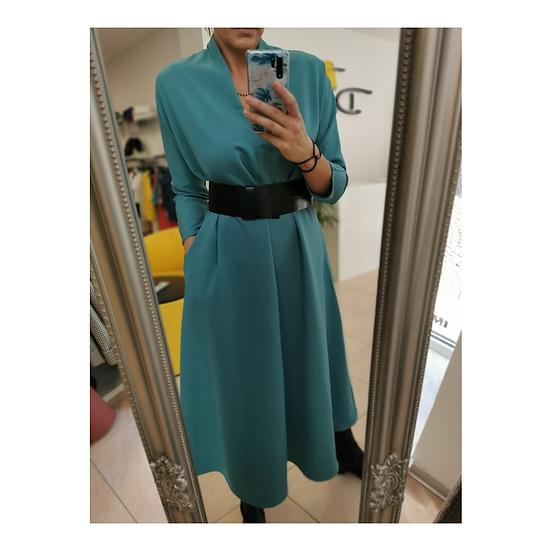 Imperial šaty s opáskom