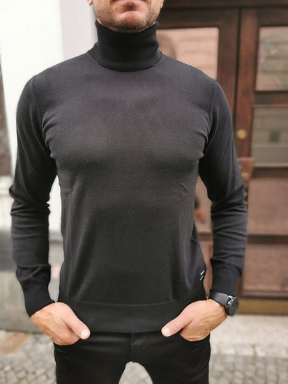 Replay sveter čierny