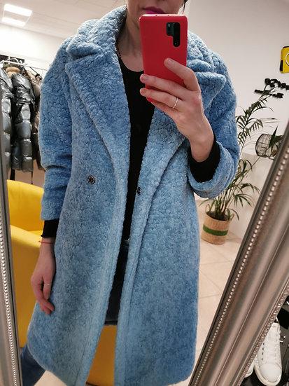 Kabát Teddy modrý MPERIAL