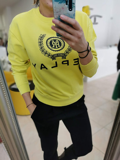 Replay mikina žltá