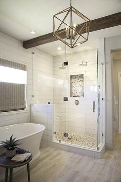 A Complete Master Bathroom Renovation  |