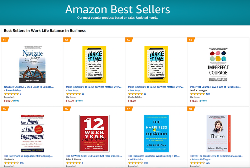 Navigate Chaos: A best seller on Amazon!