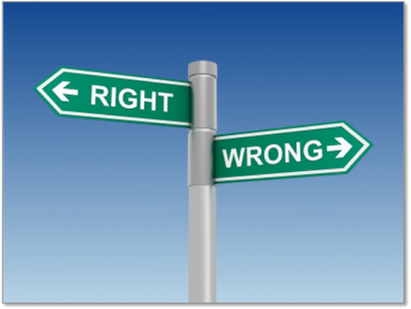 How WRONG Is Being RIGHT?