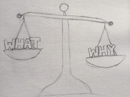 Align Your 'What' With Your 'Why'