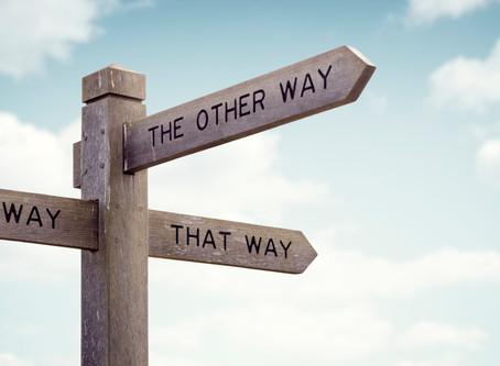 Is my way the only way?