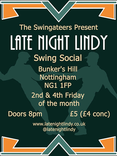 late night lindy swing dance nottingham