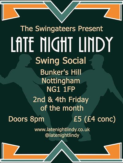 late night lindy swing dance nottingham