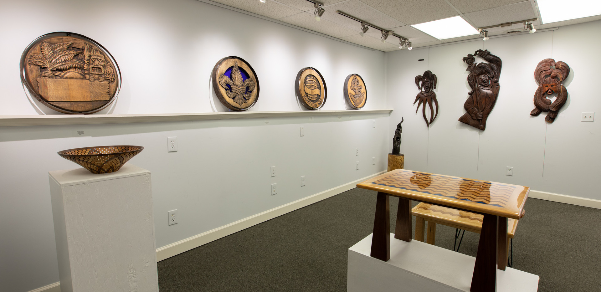 Knock on Wood Gallery Opening