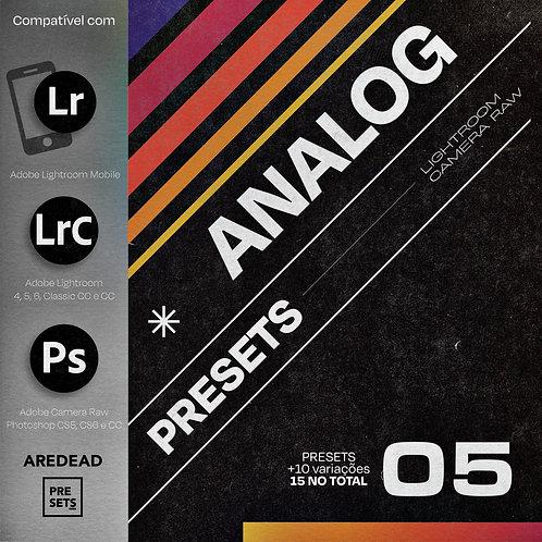 ANALOG Presets - Filtro Analogico