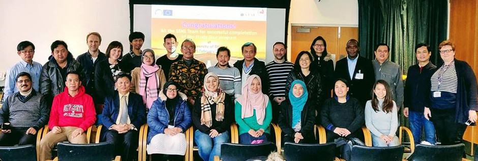 Study tour and Project workshop at the University of Stirling