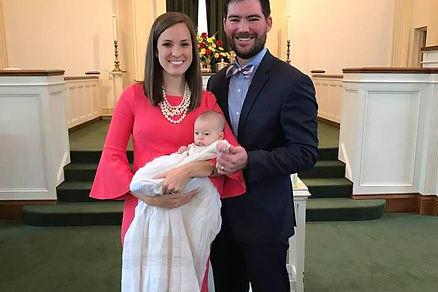 Eleanor Jones Baptism