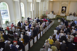 Congregation During Easter Service