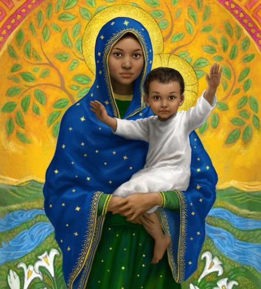 Black Blessed Mother and child.jpg
