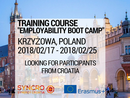 """Training Course in Poland """"Employability Boot Camp"""""""
