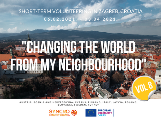 SHORT-TERM VOLUNTEERING (ESC)│Zagreb, Croatia 🇭🇷│Changing The World From My Neighbourhood VIII