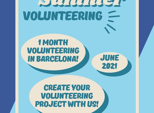 SHORT-TERM VOLUNTEERING (ESC) │ Barcelona, Spain 🇪🇸│BARCELONA SUMMER VOLUNTEERING