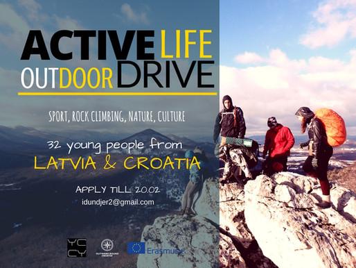 Youth-Exchange | Veliki Žitnik 🇭🇷 | Active life - Outdoor drive