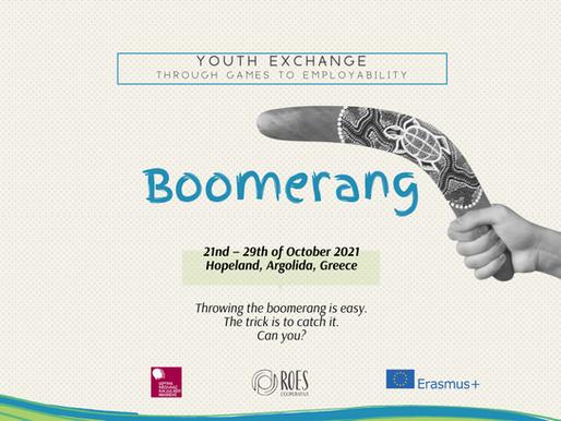YOUTH EXCHANGE│ARGOS, GREECE 🇬🇷│BOOMERANG