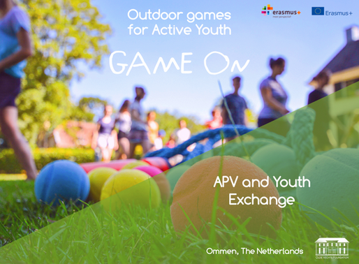 APV & Youth Exchange│ Ommen, The Netherlands│ Game On
